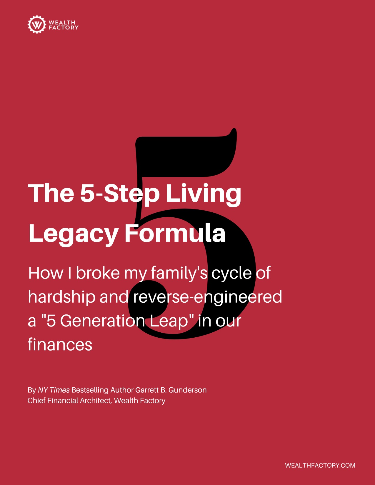 The 5-Step Living Legacy Formula