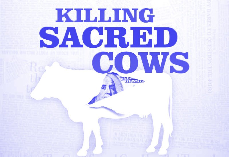 Killing Sacred Cows book by Garrett Gunderson